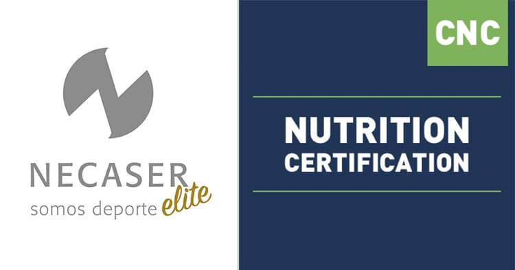 Formacion Necaser Nutrition certification